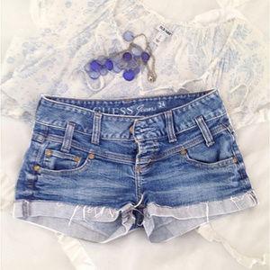 Guess Short Shorts Jeans Shorts   24